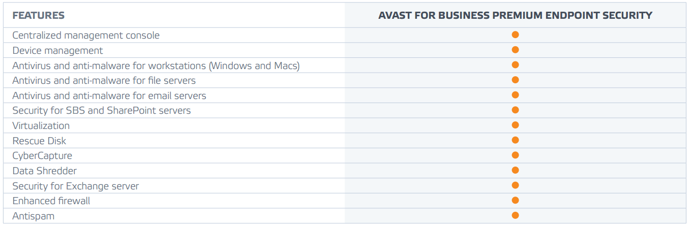 what is avast business security